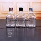 250 мл квадратных ясно аромат бутылки стеклянные бутылки на складе аромат DH018