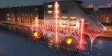 Fuente de agua flotante encendida LED ligera subacuática de la fuente