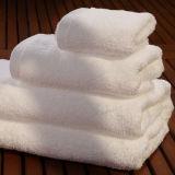 Am meisten benutzte Baumwollweißes Tuch-Hotel-Terry-Bad-Tuch