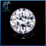 6.5mm 둥근 Oec 오래된 유럽인 커트 Moissanite 1개의 캐럿 합성 백색 다이아몬드