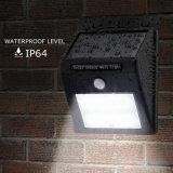 IP65 привели солнечного освещения сада настенный светильник с датчиком PIR настенный светильник для установки вне помещений