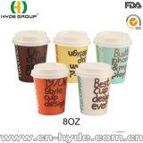 8 oz de taza de café de papel para el mercado de Arabia Saudita