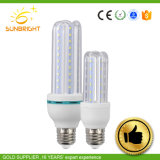 LED haute puissance de lampes de maïs avec couvercle en plastique