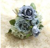 Venda por grosso de flores bouquet de Casamento Falso Fornecedor Peony Flores artificiais