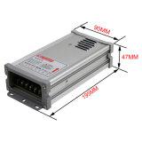 fonte de alimentação Rainproof dedicada ao ar livre do interruptor do diodo emissor de luz de 5/12/24V 200W