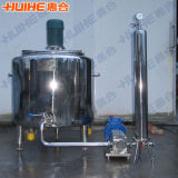 Réservoir de mélange vertical d'acier inoxydable pour le sucre