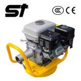 Машина конкретной вибромашины бензинового двигателя Gx160 вибрируя