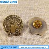 Emblema feito sob encomenda do clube da escola do emblema do Pin do Lapel da lembrança do emblema do metal