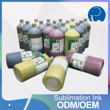 tinta do Sublimation de 1000ml J-Teck para a impressora de Mutoh 900X/Mimaki