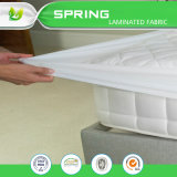 Cubierta orgánica del trazador de líneas de la cubierta y de la pista de colchón del pesebre del bebé del algodón