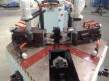 Machine sertissante faisante le coin principale simple en aluminium