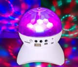 A luz de LED móvel ativa Crystal Magic Ball caixa do alto-falante Bluetooth