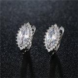 brass Earrings 형식 보석 다른 다채로운 주요 돌 숙녀