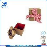 선전용 둥근 마분지 백색 선물 상자