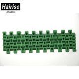 Transportador de plástico Hairise Har-1505 tipo plano correia com a cor verde