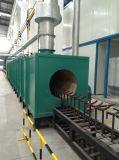 Glühofen für den LPG-Gas-Zylinder, der Zeile abschleift