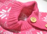 Шлемы & шарф детей зимы связанные способом