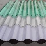 Do policarbonato contínuo do Ge Lexan de 100% folha ondulada por 10 anos