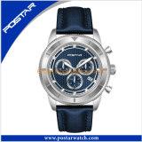 Het professionele OEM van de Levering van de Fabriek Horloge van het Plateren van het Horloge van de Sport van het Ontwerp Zwarte