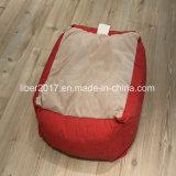 빨간 연약한 면 사각 개 고양이 애완 동물 침대 애완 동물 제품 부속품