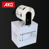 """Escrituras de la etiqueta compatibles que cortan con tintas personalizadas Dk-1209 (1-1/7 """" X 2-3/7 """"; 29mm62m m) Escrituras de la etiqueta autas-adhesivo"""