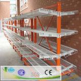 Racking Cantilever de aço do armazenamento resistente do armazém