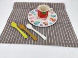 Essuie-main de thé estampé par coutume en gros, impression faite sur commande d'essuie-main de thé (BC-KT1043)