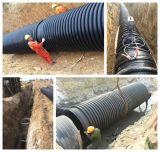Hochfestes HDPE Karat-Rohr für quadratisches Wasser-Infiltration-Entwässerung-Rohr