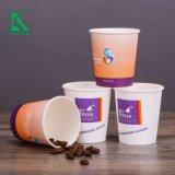 4 унции 8 унции 12oz багассы бумаги чашки с PLA покрытие