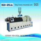 Sjz80/156 de PVC de alta capacidad de plástico de doble tornillo de Extrusión de perfil de WPC