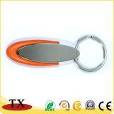 Os tipos da alta qualidade da liga do zinco do plástico e do metal fizeram o suporte da corrente chave e da chave