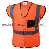 Maglia riflettente di sicurezza dei vestiti di obbligazione del Workwear del nastro di PVC di Ciao-Forza
