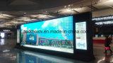 P2.98 P3.91 P3 Estación de tren de anuncio de la pantalla del panel LED de interior en el aeropuerto