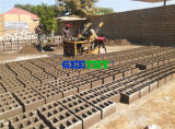 Qmy4-45 디젤 엔진 구체적인 시멘트 계란 놓기 빈 벽돌 구획 기계