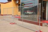 6 панель загородки американского стандарта FT*12 FT гальванизированная строительной площадкой (XMR17)