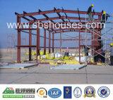 Berufsentwurf fabrizierte Stahlkonstruktion-Speicher-Lager-Halle vor
