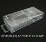 Cadre se pliant transparent pour l'empaquetage en plastique