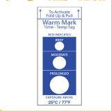 Warmmark Markering Voor éénmalig gebruik, de Stijgende van de Temperatuur van de Tijd van 48 Uren