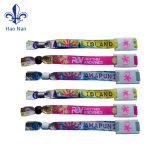 Zhongshan en Chine Logo personnalisé gratuit Bracelets polyester /Promotion Bracelet Polyester