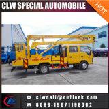中国の最もよい4X2高いプラットホーム作業トラックのオーバーヘッド働くトラック