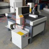 Machine de découpage en aluminium de couteau de commande numérique par ordinateur pour la petite publicité en bois 6090