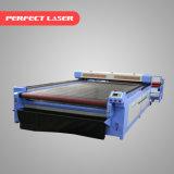 Sistema d'alimentazione automatico sistema di cuoio di taglio del laser del CO2 della tagliatrice