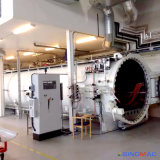 autoclave elétrica industrial dos compostos do aquecimento de 3000X12000mm no campo aeroespacial