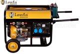 5kVA het Lassen van de motor/de Generator van de Lasser met Handvat en Wielen