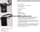 [رفيد] يسدّ جواز سفر خبيئ عنق مال حقيبة سفر كيس محفظة