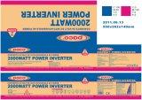Senóide modificada 220V 24V DC para AC 2000W Inversor de Energia
