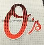 Logotipo de impressão por transferência térmica de silicone para acessórios de vestuário
