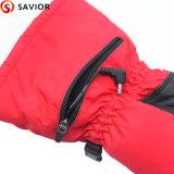 Батареи PU зимы перчатка теплой кожаный Heated