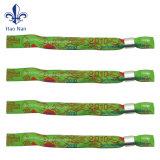 Wristbands del tessuto stampati poliestere su ordinazione di festival di musica per l'evento