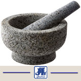 Het goedkope Grijze Mortier en de Stamper van het Graniet voor Keuken